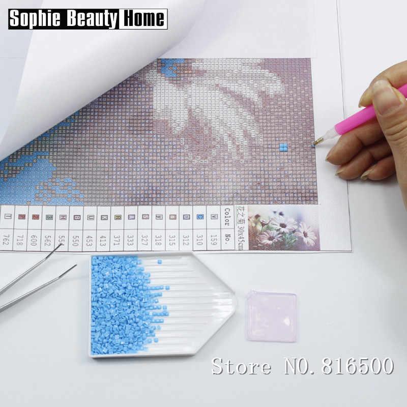 5D DIY Pintura Diamante Broca de Diamante cheio de Altura Árvore Diamante Bordado Ponto Cruz Strass Padrões de Mosaico 062608
