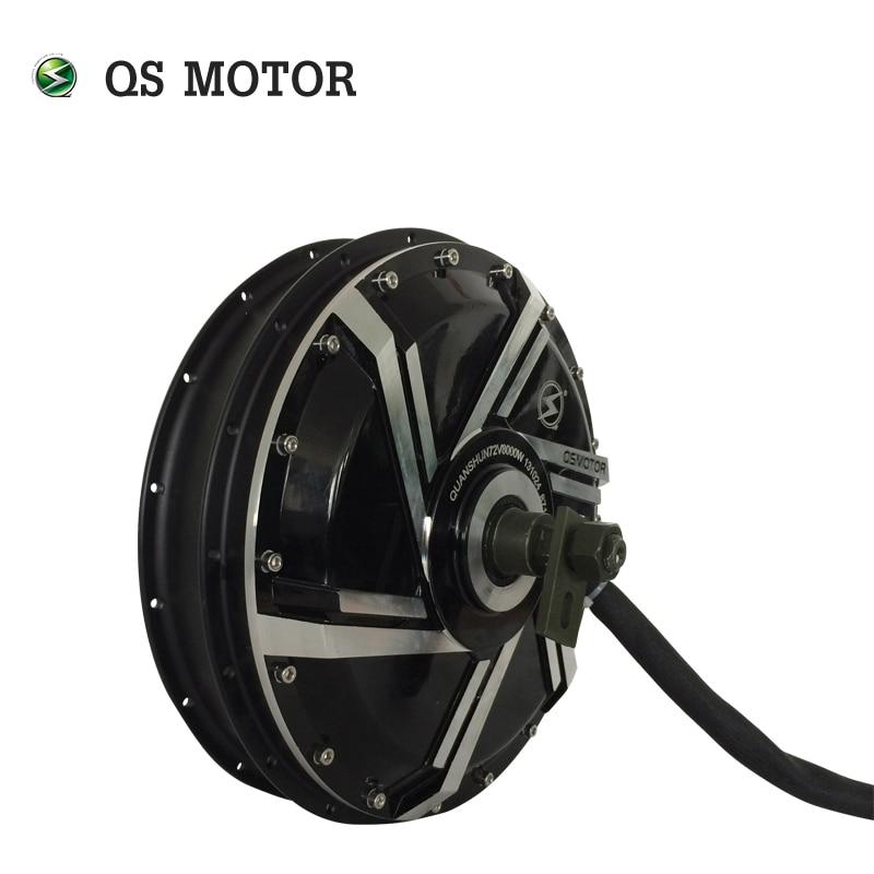 120KPH High Speed Electric bike hub motor 8000W 273 50H V3 Brushless in wheel hub motor
