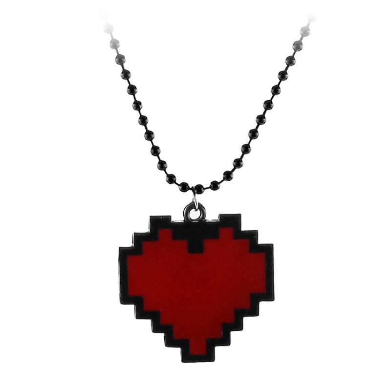 Mode colliers jeu Undertale Papyrus Sans Frisk bravoure amour coeur collier pendentif lien chaîne femmes bijoux accessoires