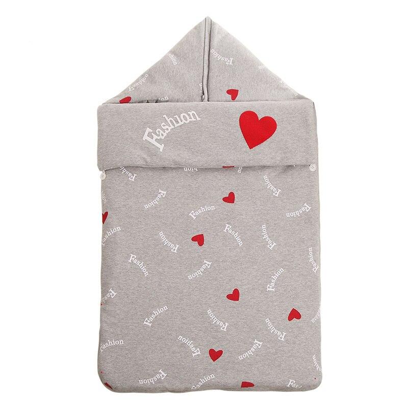 все цены на 90*48cm Baby Sleeping Bag Baby Infant Swaddle Wrap Winter Envelope Cotton for Newborn Pure Cotton Cute Baby Blanket