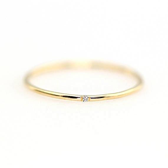 ZHOUYANG кольца для женщин с микро-вставками из кубического циркония тонкое кольцо на палец модное Ювелирное кольцо KCR101 - Цвет основного камня: Light Gold Color 102