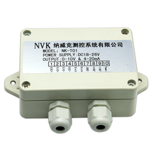 цена на Weighing Transmitter Weight Amplifier 4-20MA Force Sensor Voltage-Current Converter 0-10v0-5v