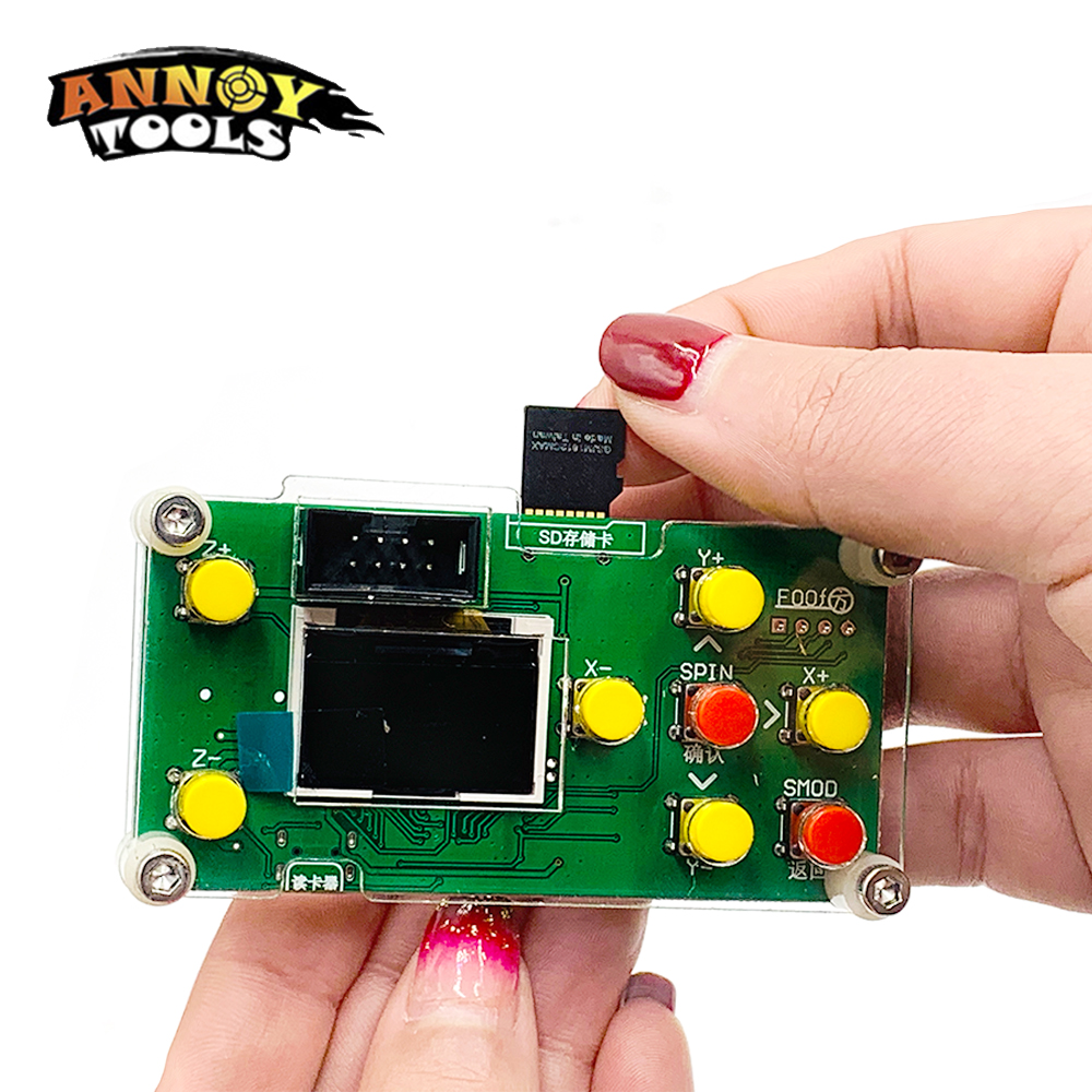 ANNOYTOOLS New GRBL Off-line Working Controller For Engraving Machine Wood Router
