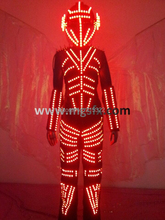 Free shipping RGB LED Dance suit / LED light costume / LED Clothing