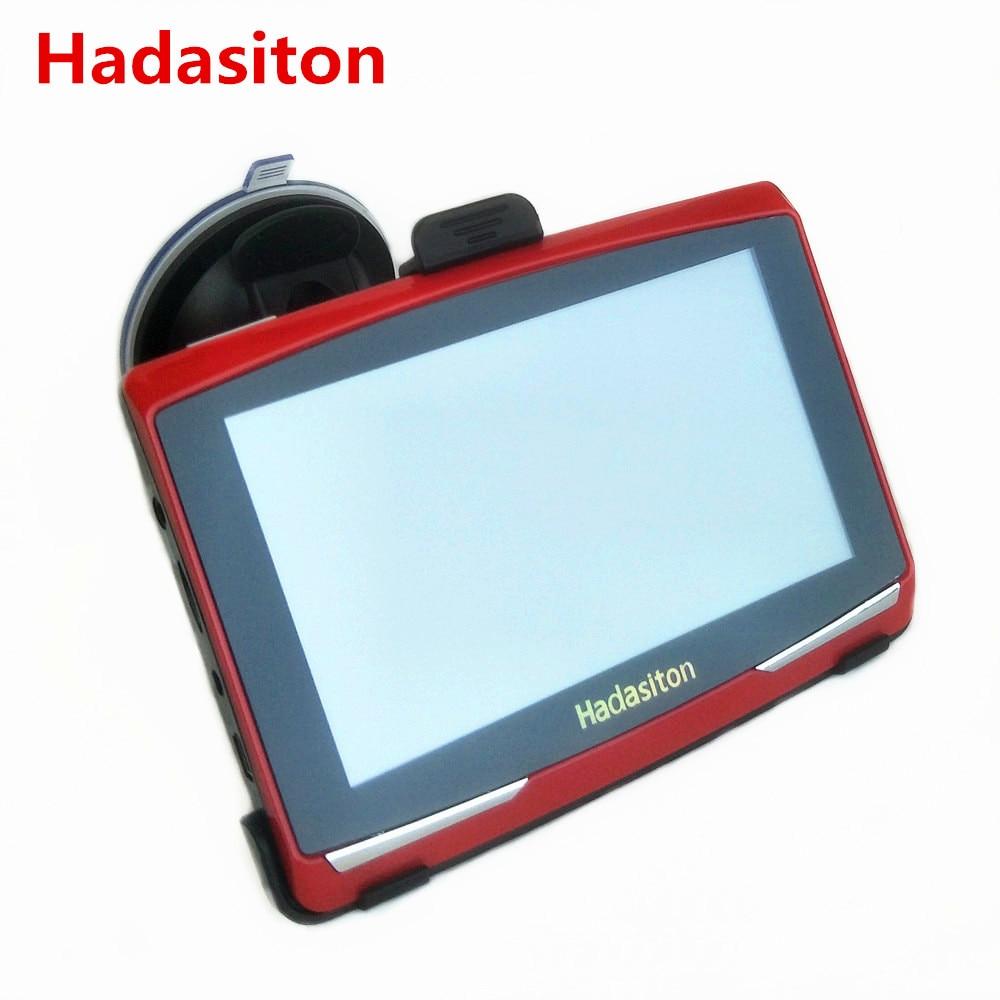 New 5 Car GPS Navigation 8G CPU800M Sat Nav Multi language FM Free Maps Bluetooth AV