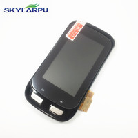 skylarpu 3.0 inch LCD screen for GARMIN EDGE 1000 Bicycle GPS LCD display Screen with Touch screen digitizer Repair replacement