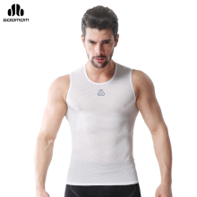 SOBIKE Summer Men's Sports Jersey Bicycle Sleeveless Sportwear Underwear Shirt Cycling Vest Breathable Anti-Sweat Bike Jersey