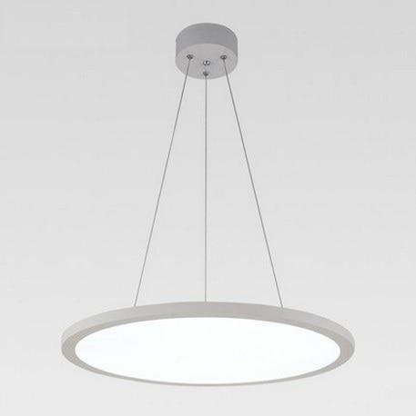 Creative Slim Design Round Acrylic Droplight Modern LED Pendant Light Fixtures For Dining Room Hanging Lamp Home Lighting