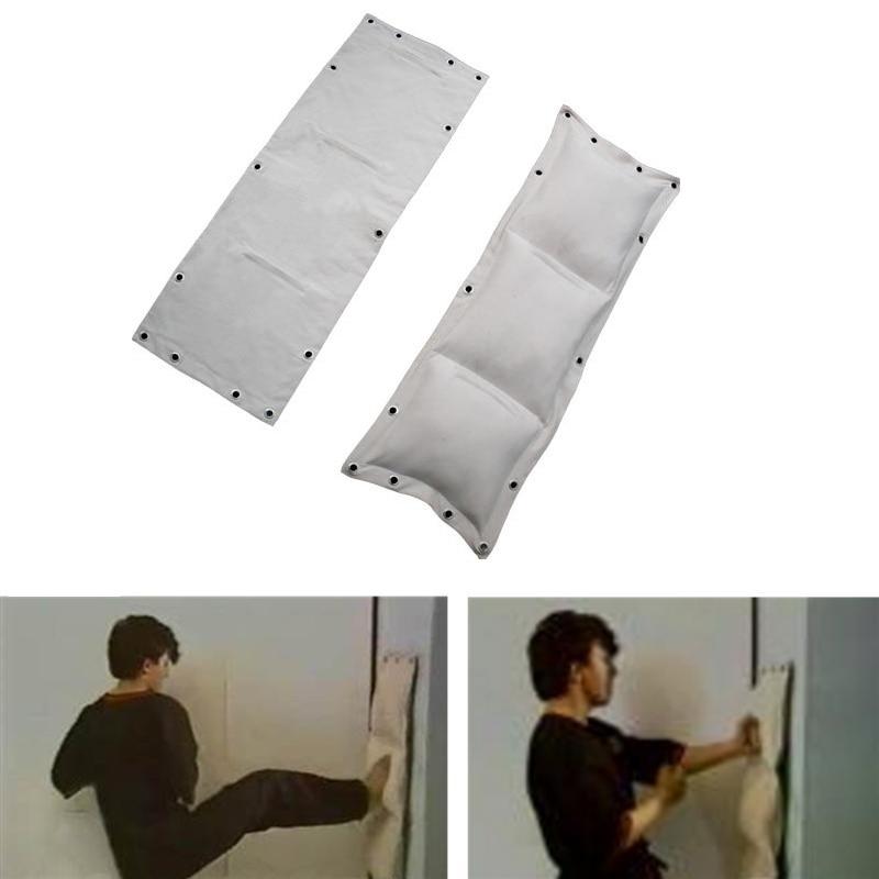 Wing Chun 3-Sections Punch Bag Kung Fu Martial Arts Kick Boxing Sand Bag With Hanging Eyelets Hollow For Kung Fu Training