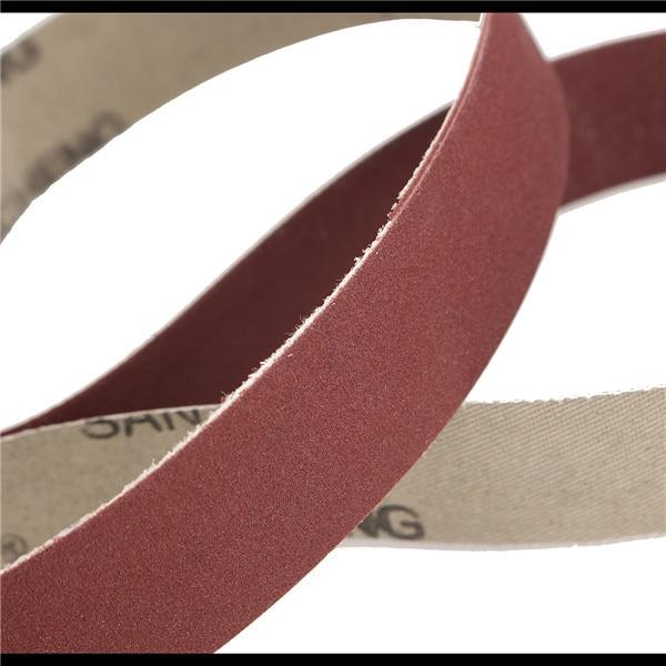 Tools Tasp 10pcs 25x762mm Abrasive Sanding Belt 1x30 Belt Sander Sandpaper Woodworking Tools Accessories High Quality