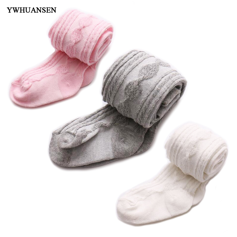 YWHUANSEN 0-12Yrs Kid Infant Knitted Collant Tights Soft Infant Clothing Children Spring/Autumn Tight Cotton Baby Girl Pantyhose baby spring autumn tights cotton baby girl pantyhose kid infant knitted collant tights soft infant clothing