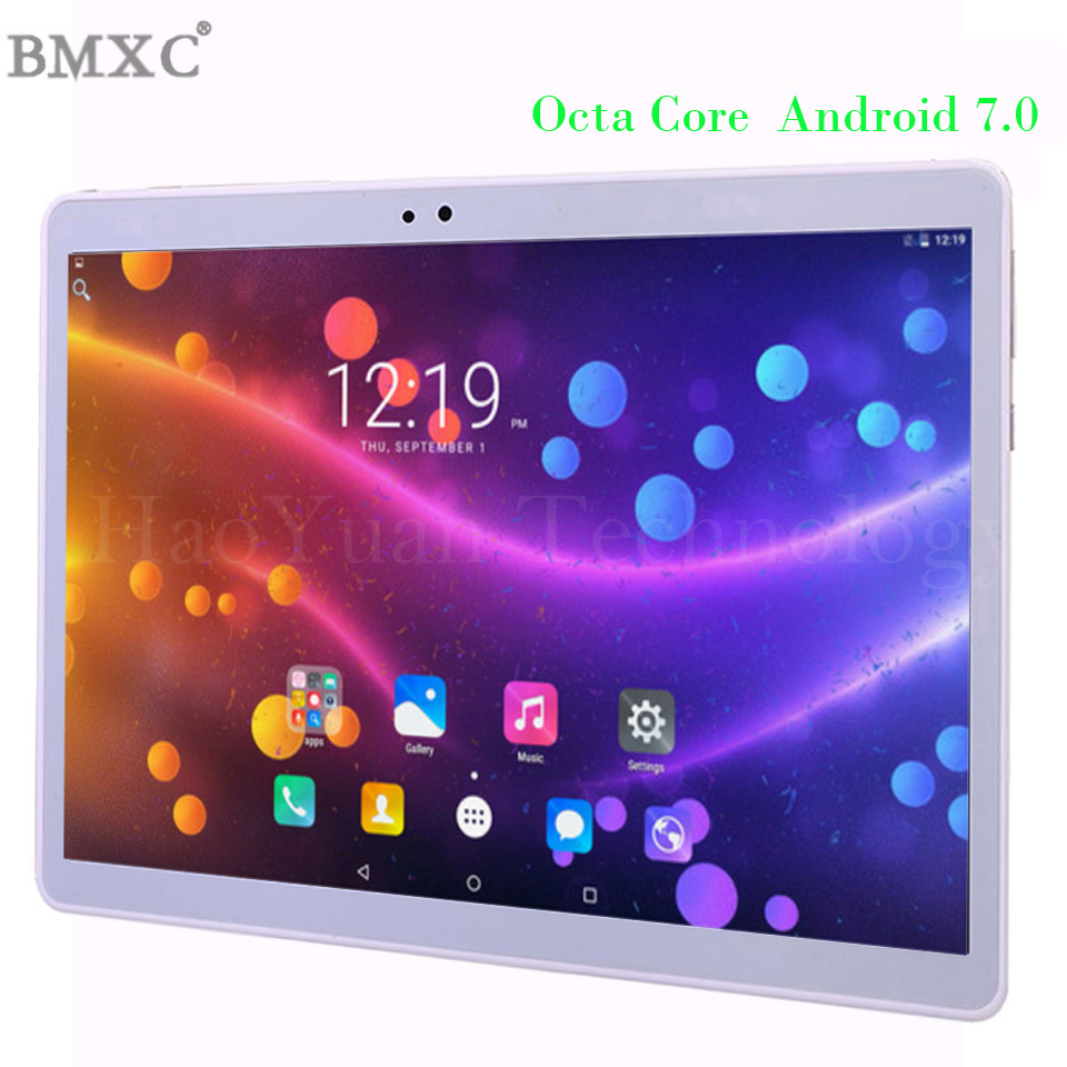 2017 new 10 inch Tablet Android Tablet PC Octa Core 4G Tablet pcs 64GB ROM phone call tablet WIFI GPS Metal cover bluetooth