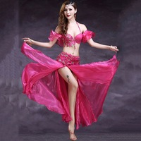 a7f8295c0 2015 Belly Dance Costume 2pcs Bra Skirt Bollywood Dance Costumes Gypsy  Skirt Bellydance Danca Do Ventre