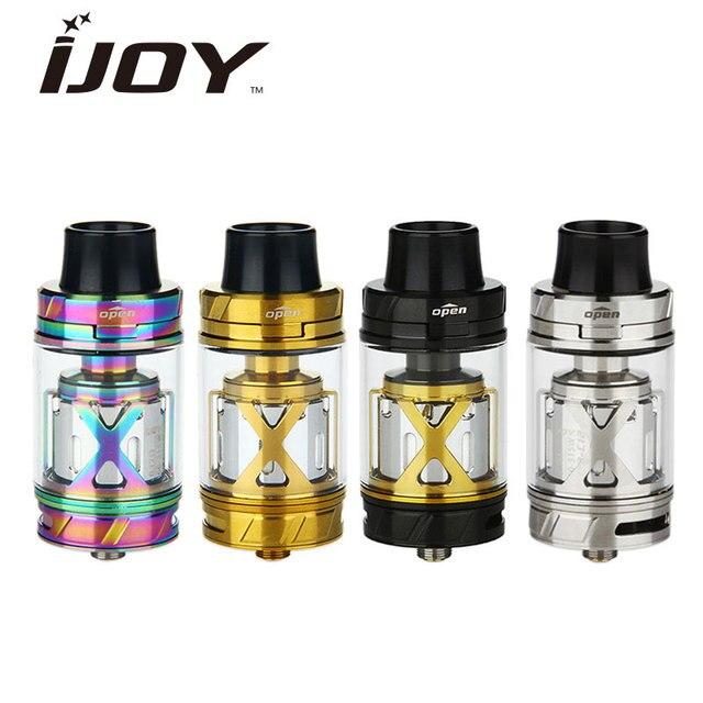 Оригинал ijoy maxo v12 v12 форсунки subohm rta бак 5.6 мл с V12-RT6 ПАЛУБЕ Макс 315 Вт Огромный Паром Распылитель XL-C4 чип катушки