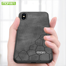 For iPhone X case cover for iPhoneX case MOFi TPU leather cover ultra thin shell protective silicone luxury for iPhone X case