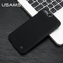 For iPhone 7 7plus Power Bank Phone Case USAMS Battery Ultra Slim External Pack Backup Portable charger case 2500&3650mAh