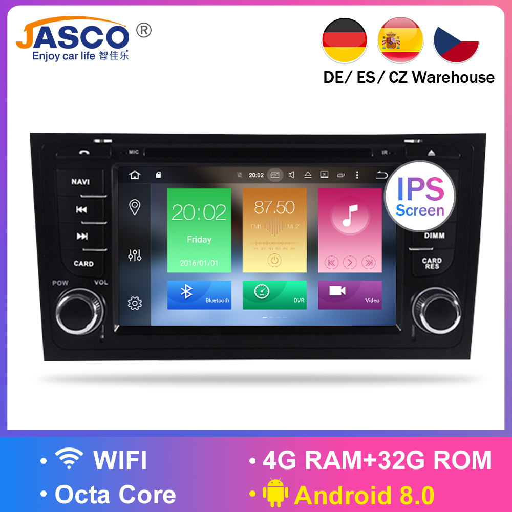 Android 9.0 Car DVD Stereo Multimedia Headunit For AUDI A6 1997-2004 S6 1997+ Auto PC Radio GPS Navigation Video Audio 4G RAM