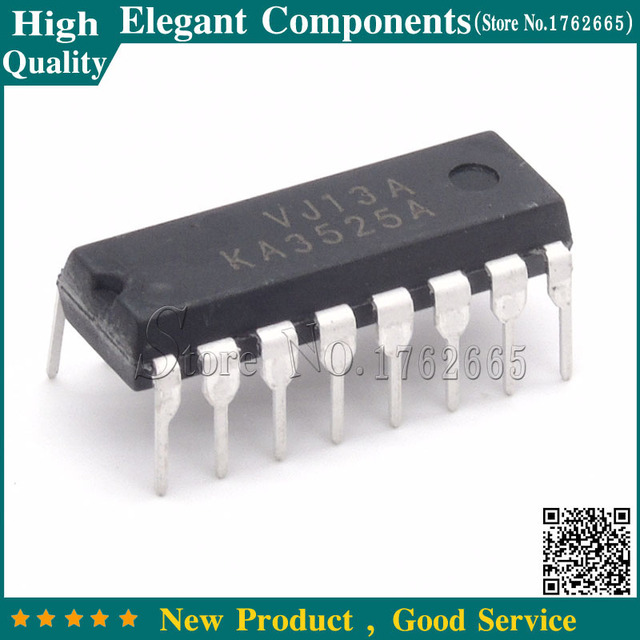 10PCS KA3525A KA3525 SG3525A DIP16 PWM Controller Power Supply Original IC  FREE SHIPPING-in Replacement Parts & Accessories from Consumer Electronics