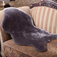 Area Soft Faux Sheepskin Rugs Mat Carpet Pad Wool Carpet Chair Baby Seats Sofa Cushions Home Decoration Textile Washable