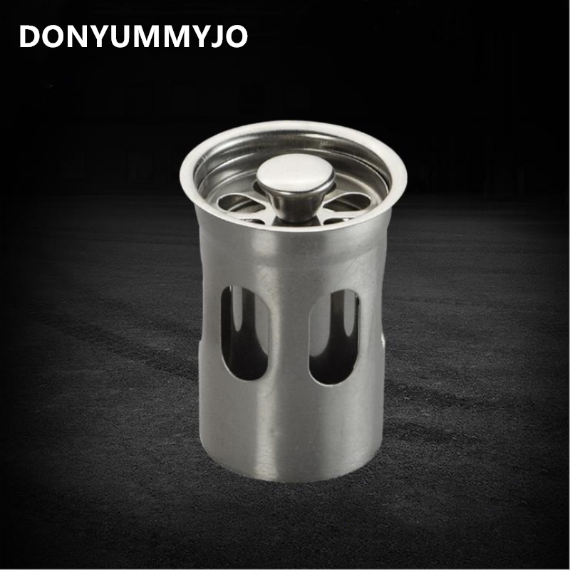 1pc Stainless Steel Floor Drain Deodorant Floor Drain Insect Pest Treasure Deep Water Seal Tube