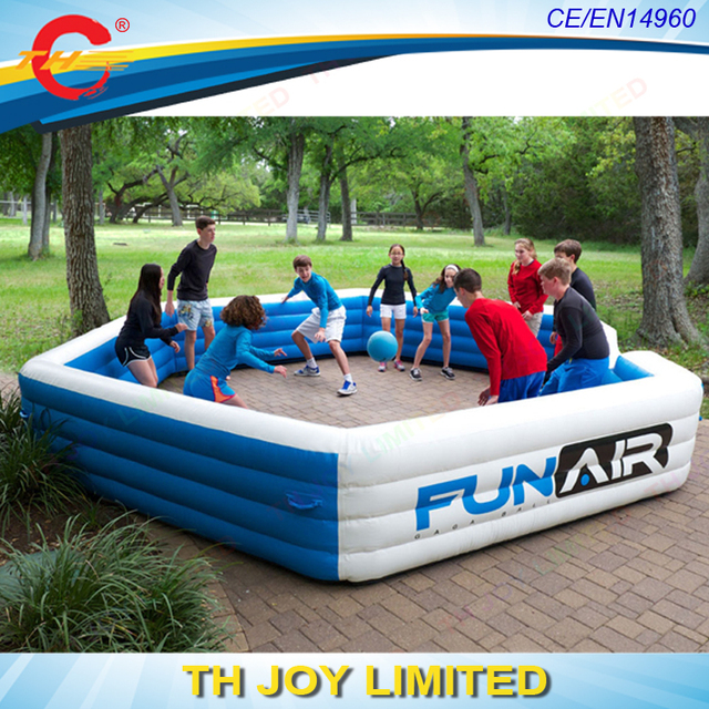 Free Shipping Funny Game Inflatable Gaga Pit Ball Game, Funny Inflatable  Sport Game ,Backyard