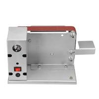 Drillpro Angle Grinder Electric Belt Sander with Adapter Polishing Grinding Machine Cutter Edges Sharpener Belt Grinder 775/795
