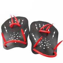 High Quality Adjustable Silicone Swimming Fins Men Women Paddles Webbed Palm Resistance Board Training Pool Diving Gloves