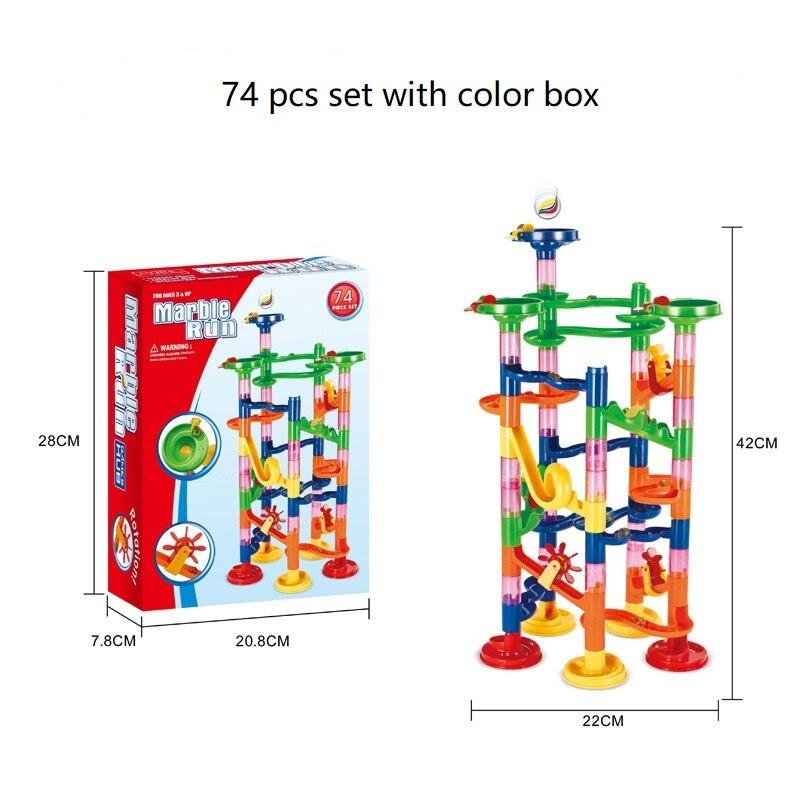 74pcs color box