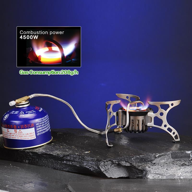 BRS 8 BRS мульти портативная газовая плита для кемпинга на открытом воздухе кухонная плита для пикника Складная горелка разветвитель тепла PK огонь клен FMS X2 - 4