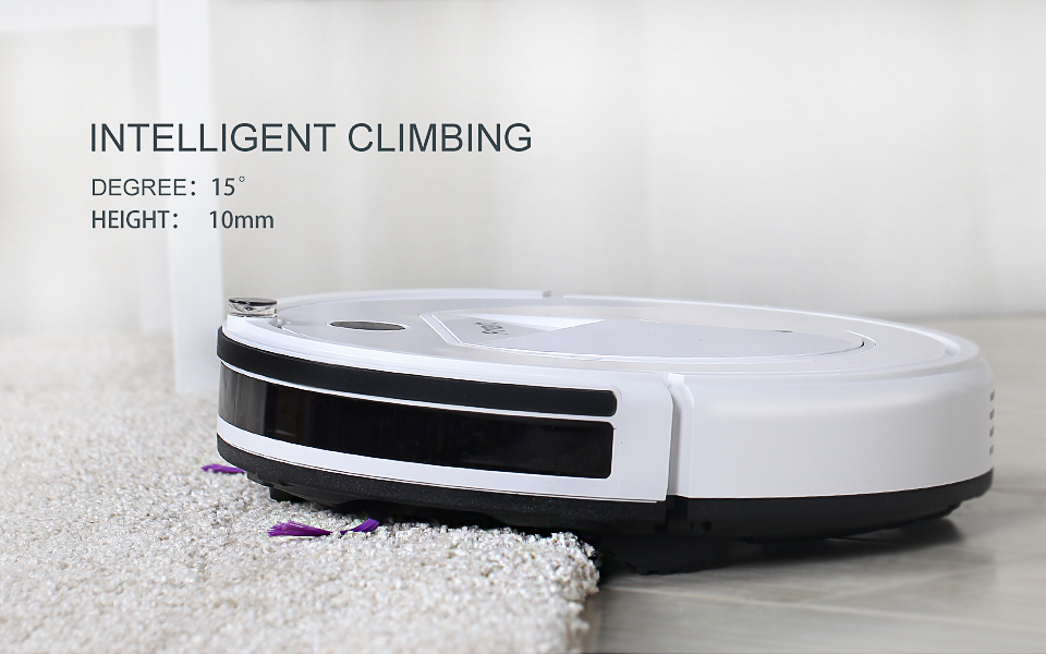 Pro Robot Vacuum Cleaner with Self-Charge Wet Mopping for Wood Floor (5)