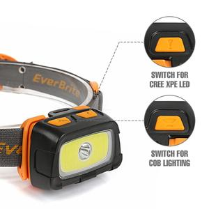 Image 3 - EverBrite LED Headlamp 3000 Lumens Multifunction Headlight 7 Lighting Modes Perfect for Trail Running Camping Hiking
