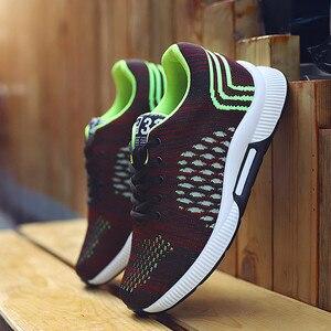 Image 4 - Misalwa 2020ฤดูร้อนแฟชั่นผู้ชายลิฟท์รองเท้าที่มองไม่เห็นเพิ่มความสูง6 CMรองเท้าสบายๆชายรองเท้าผ้าใบHombre