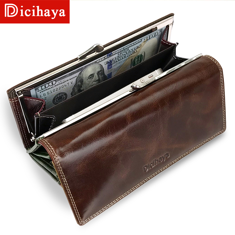 DICIHAYA Wax Oil Leather Women s