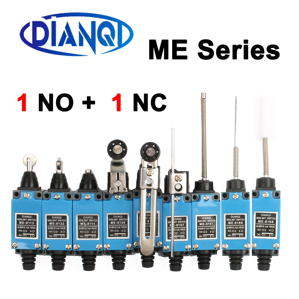 ME ME-8108 limit switch Rotary Adjustable Roller Mini Limit Switches TZ-8108 AC250V 5A NO NC 8108 8104 8111 8112 8122 8166 9101(China)