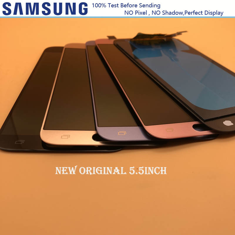 5 5 NEW ORIGINAL LCDs Replacement Screen Touch Digitizer Assembly For Samsung Galaxy J7 Pro 2017