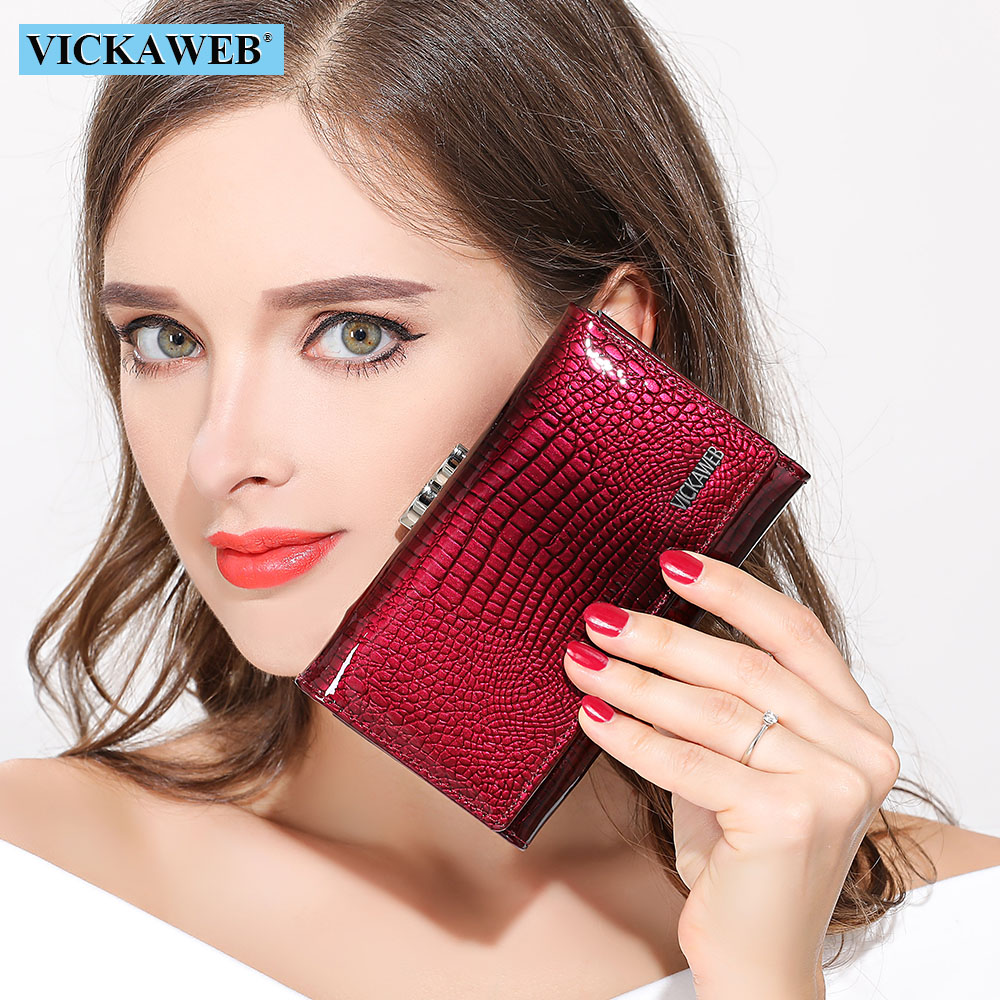 Women Wallet Small Short Genuine Leather Wallet Female Alligator Hasp Coin Purse Women Purses Mini Womens Wallets And Purses