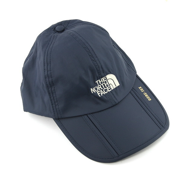 6299fe343 Waterproof Outdoor Hat Foldable Leisure Sports Cap Adjustable Strap & Brim  - Dark Blue