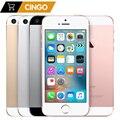 Оригинальный разблокированный мобильный телефон iPhone SE, 2 Гб ОЗУ 16 Гб/32 ГБ/64 Гб/128 Гб ПЗУ, экран 4,0 дюйма, сканер отпечатка пальца, a1723 A1662, Apple A9 дв...