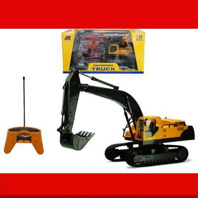 Здесь продается  Big Remote Control Digger Boy RC Excavator Toy Kids Electric Big Rc Car Trailer Remote Control Wireless Truck Car Toy  Игрушки и Хобби