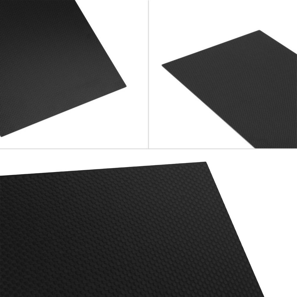 все цены на 3 pcs 300*200*2.0mm Carbon Fiber Plate Panel Sheet 3K Plain Weave Matt Surface онлайн
