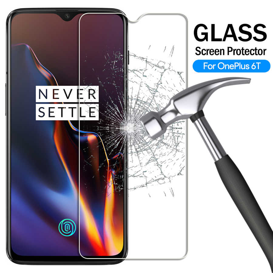 9H Tempered Glass Screen Protector For Oneplus 6 7 for 1+6 5T 6T 3T for One Plus 5 Five 3 6 7 Explosion Proof Protective Film