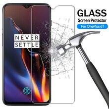 Protecteur décran en verre trempé 9H pour Oneplus 6 7 pour 1 + 6 5T 6T 3T pour un Plus 5 cinq 3 6 7T Film de protection antidéflagrant