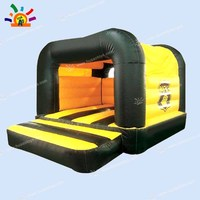 Free Shipping Commercial Inflatable Bouncer Castle with Rainvocer for Sale(Free CE Blower+storage bag)