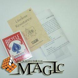 Useless Resistance by Katsuya Masuda  /close-up card magic trick / wholesale