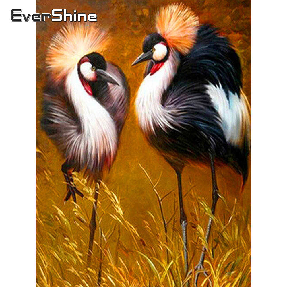 EverShine 5D DIY Diamant Malerei Voll Bohrer Platz Flamingo Diamant Stickerei Verkauf Tiere Strass Bilder Diamant Kunst