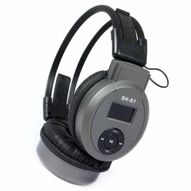Deportes HI-FI Auriculares Reproductor de MP3 AUX Auricular + FM Radio + Ranura del Lector de Tarjetas DEL TF 3 en 1 Auriculares Para Reproducción de Música