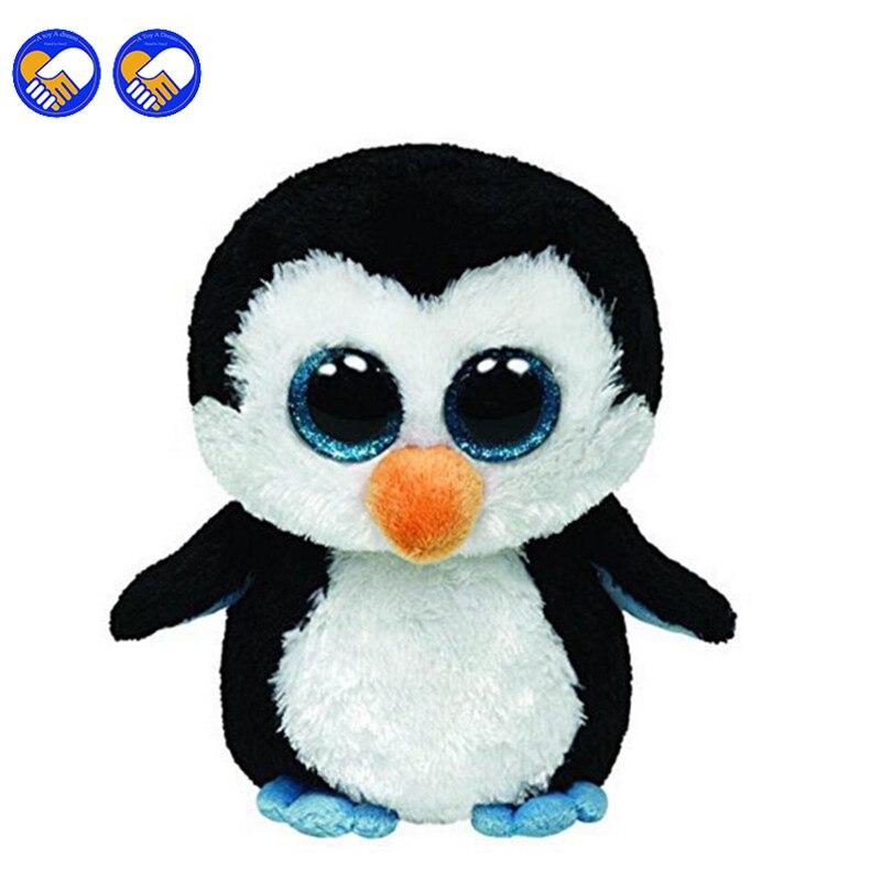 Игрушка мечта Ty Beanie Боос оригинальный большой Средства ухода для век плюшевые игрушки куклы детского дня рождения Пингвин ty Детские 16 см пи...