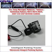 цена на Liislee Dynamic Guidance Rear Camera For Jeep Wrangler Rubicon Sahara Unlimited Sahara 2013-2015 HD Parking Intelligentized