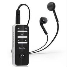 Оригинальный i4 клип Беспроводной Bluetooth 3.0 в наушники-вкладыши стерео наушники гарнитуры MIC аурикулярная для iphone7