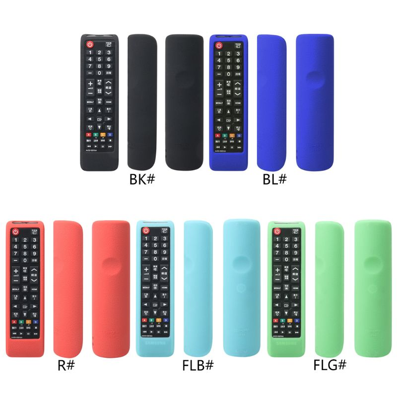 Remote Control Cover Controller Silicone Case Shockproof Protector Washable Skin For Samsung AA59-00816A LED LCD 3D HD TV